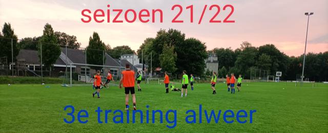Voorbereiding seizoen 2021/2022