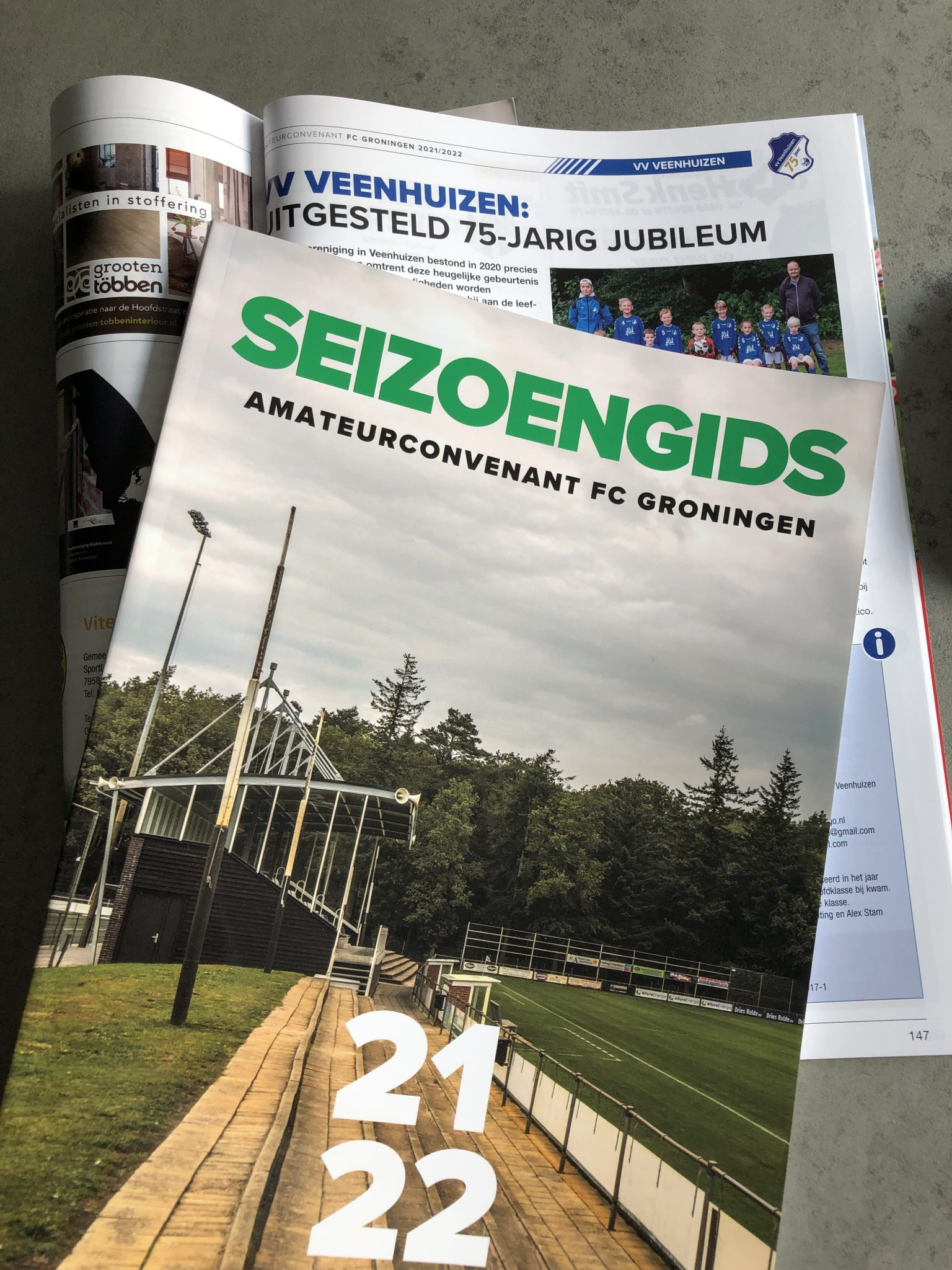 Seizoengids amateurconvenant FC Groningen 21/22